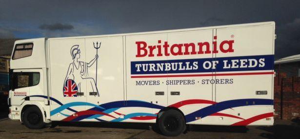 Turnbull's Removals Van